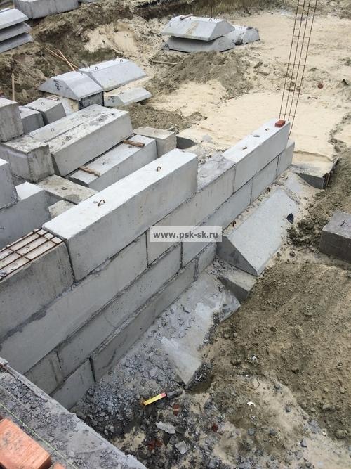 Заливка фундамента дома в Красногорске